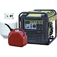 Buffalo Tools Surge Watt Dual Fuel Digital Inverter Portable Generator