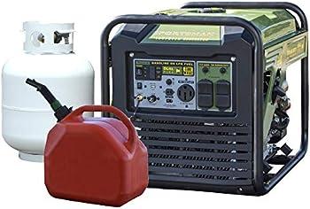 Buffalo Tools Surge Watt Dual Fuel Digital Inverter Portable Generator