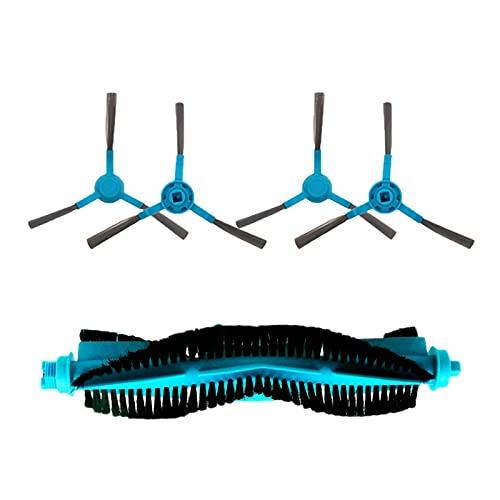 JINGERL Filtro HEPA Fit para robot Cecotec Conga 4090 5090, aspiradora, cepillo principal, cepillo lateral, paño y lumpas, kit de accesorios (color: set7)