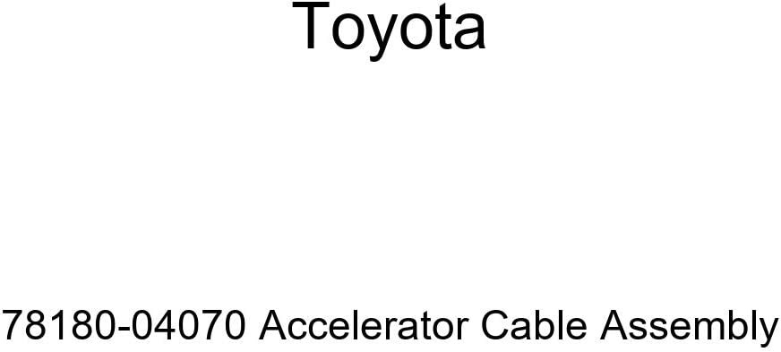 TOYOTA 78180-04070 2021 new wholesale Accelerator Assembly Cable