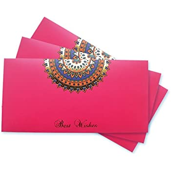 Amazon Pay Gift Card - Gift Envelope | Pink | Pack of 3