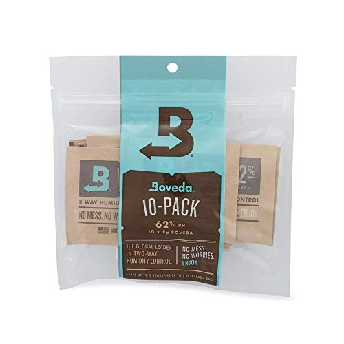 Boveda 2-way Humidity Control, 10-Pack