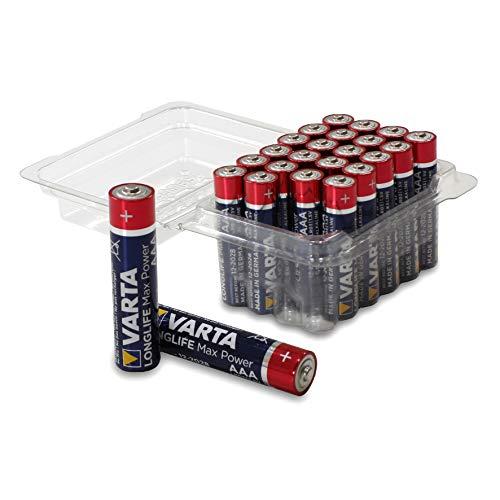 VARTA Longlife Max Power - Batteria alcalina AA mignon