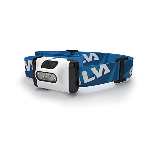 Silva Schneider Active XT - Linterna (Linterna con cinta para cabeza, Negro, Azul, Blanco, Acrilonitrilo butadieno estireno (ABS), IPX6, LED, 2 lámpara(s))