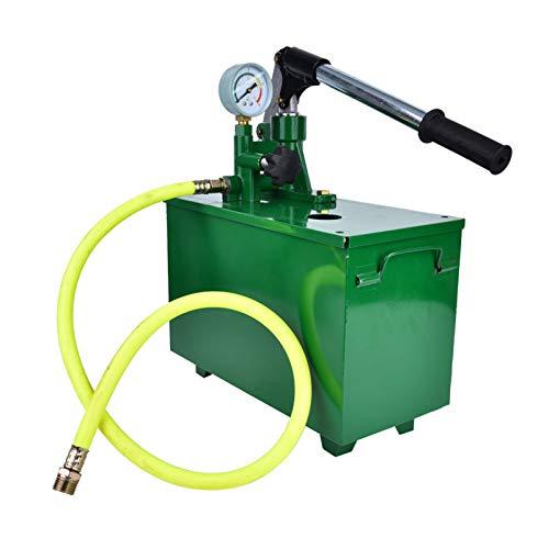 Pressure Testing Hand Pump, Pressure Test Pump Hydraulic Testing Pump Long Operation Handle Hydraulic Testing Hand Tool for Chemical