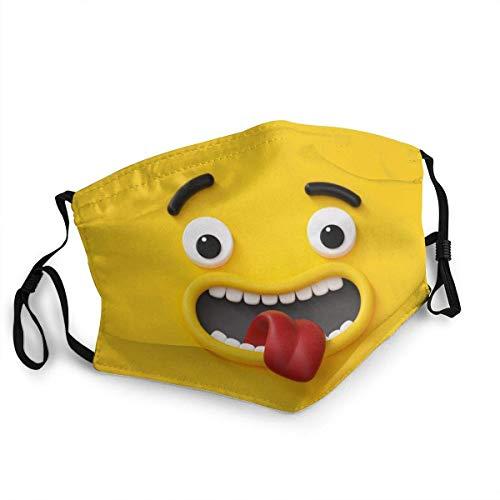 pumpkin pie Neugieriger Emoji Personalisierter Mundschutz Wiederverwendbarer Mundschutz (Give Five Mouth Guard)