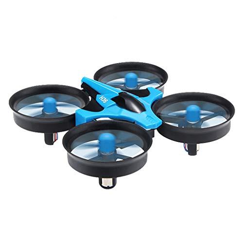 Amuzocity para JJRC H36 2.4G 4 Canales Control Infrarrojo RC Drone Toy Y 4 Hélice Azul