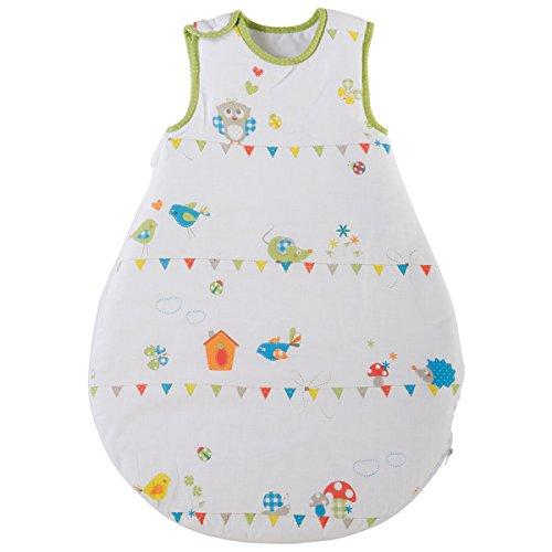 Baumwolle Schlafsack Waldhochzeit 70 cm farbenfrohe moderne Tiermotive • Kinder Kleinkind Baby Winter