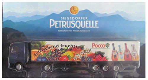 Siegsdorfer Petrusquelle Nr.02 - Pocco - Getränke Fleischmann - MB Actros - Sattelzug