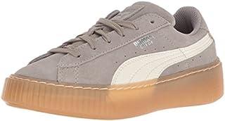 PUMA Unisex-Kids Suede Platform SNK Kids Sneaker,