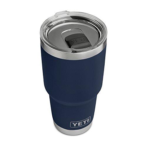 YETI Rambler 30 oz Stainless Steel Vacuum Insulated Tumbler w/MagSlider Lid, Navy