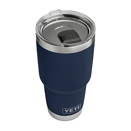 YETI Rambler 30 oz Stainless Steel Vacuum Insulated Tumbler w/MagSlider Lid, Navy