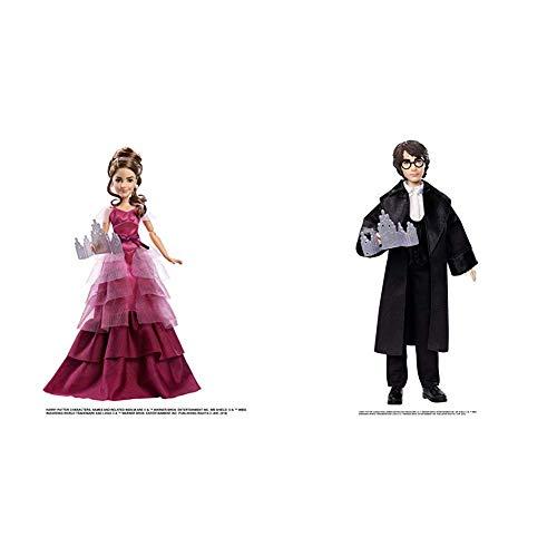 HARRY POTTER + Hermione Granger Bambola Ballo del Ceppo, Giocattolo per Bambini 6+ Anni