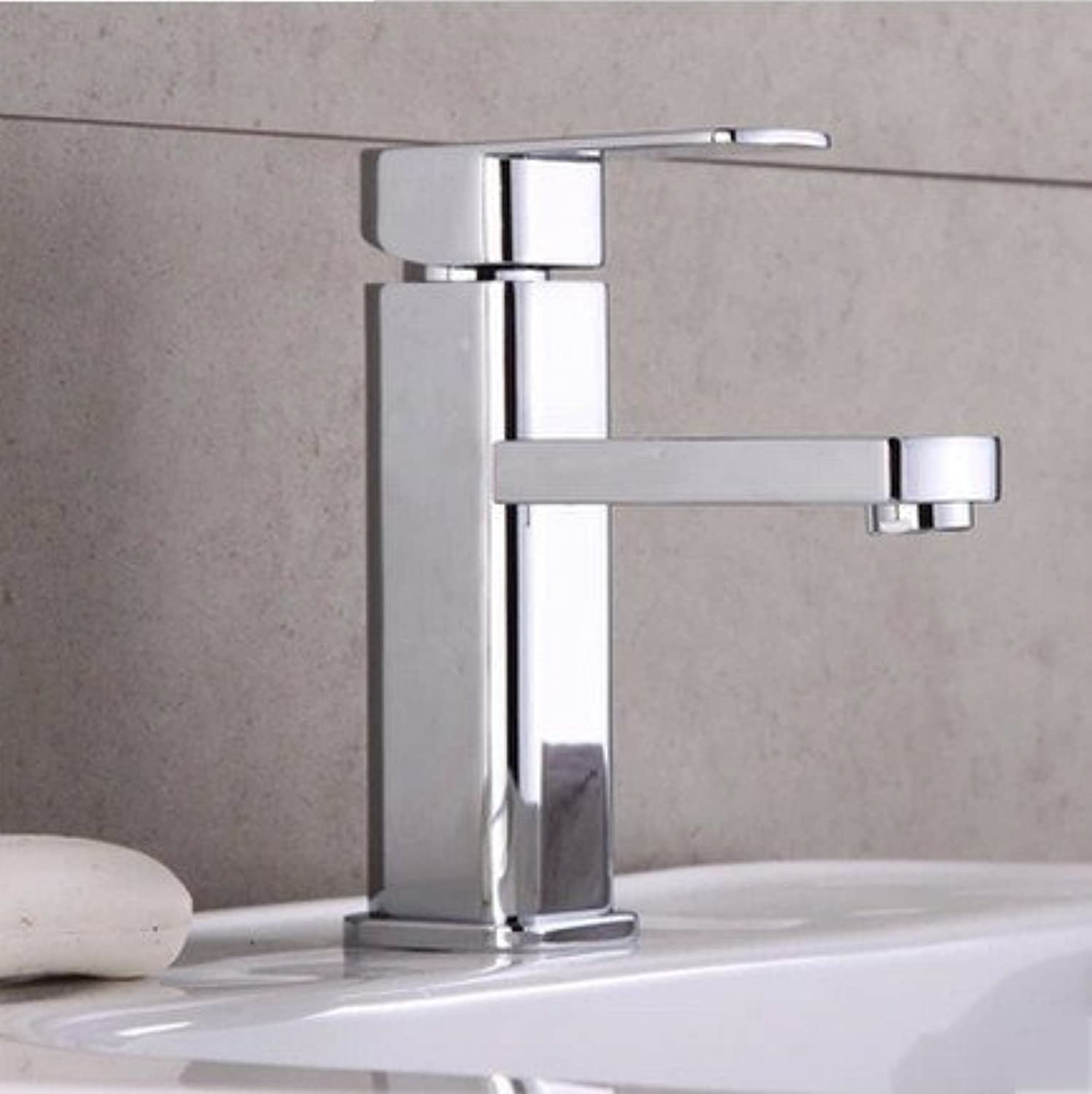 Hlluya Professional Sink Mixer Tap Kitchen Faucet Hot and cold basin mixer redation to high single hole,D,
