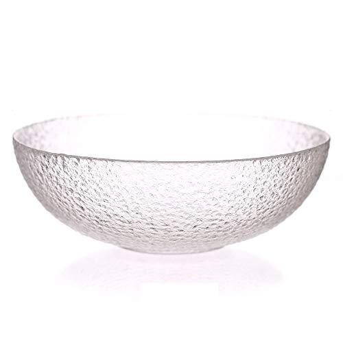 Glasschale Gewürzschale Haushalt Glasschale Glas Reisschale Obst Salatschüssel Dessertschale Ice Ning Transparente Glasschale Salatschüssel