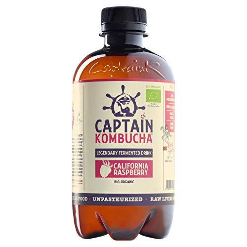 Captain Kombucha, California Raspberry (Pack of 8)