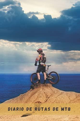 DIARIO DE RUTAS DE MTB: Lleva un diario detallado de tus salidas en bicicleta o mountain bike | Regalo especial para amantes del ciclismo de montaña.