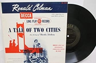 A Tale of Two Cities, Narrated By Ronald Colman Decca 10