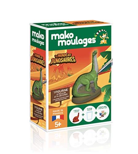 mako moulages- Dinosaures Le Diplodocus Kit Créatif, 39025