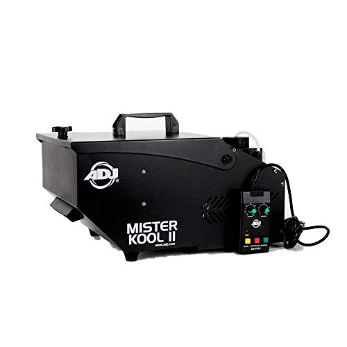 ADJ Products American DJ Mister Kool II Black Low Lying Water Smoke Fog Machine w/Remote