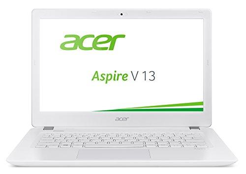 Acer Aspire V 13 (V3-372-518V) 33,8 cm (13,3 Zoll Full HD IPS) Laptop (Intel Core i5-6267U, 8GB, 256GB SSD, Intel Iris Graphics 550, Win 10 Home) weiß