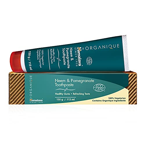 Neem & Pomegranate Toothpaste | Fluoridfreie Zahnpasta | Vegetarisch | 150g