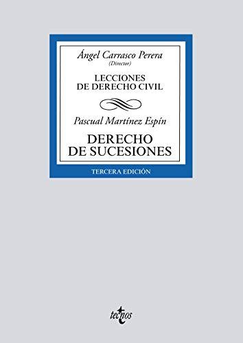 Derecho de sucesiones: Lecciones de Derecho Civil (Derecho - Biblioteca Universitaria de Editorial Tecnos)
