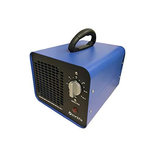 Ozonlife Kommerzieller Ozongenerator Geruchskiller,10.000mg/Std Industrieller Ozon Luftreiniger,Ozongerät Ozonisator mit Timer für Zimmer, Rauch, Autos und Haustiere
