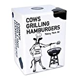 Cows Grilling Hamburgers - Original Funny Adult Party Card Game - Stand Alone or Expansion Pack - Hilarious NSFW Grown Up Themes - Fun Parties, Groups and Game Nights