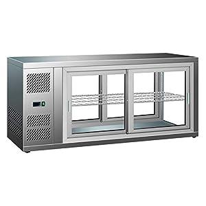 Vitrine Réfrigérée à Poser de Pâtisserie 150 L - Combisteel - R600AAcier inoxydable