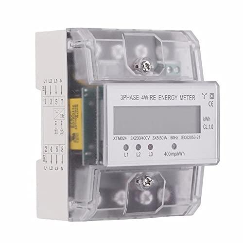 contador electrico digital trifasico Marca ZWPARTS