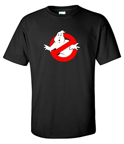 Men's Gildan Cotton Ghostbusters 80s Logo T-shirt, S to XXL