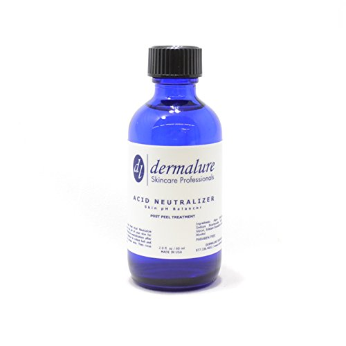PROFESSIONAL (MEDICAL GRADE) Acid Neutralizer Skin pH Balance - Super Effective for any Chemical Peel Neutralization & Balance the pH of your Skin with in 10 Second (2oz. 60ml)