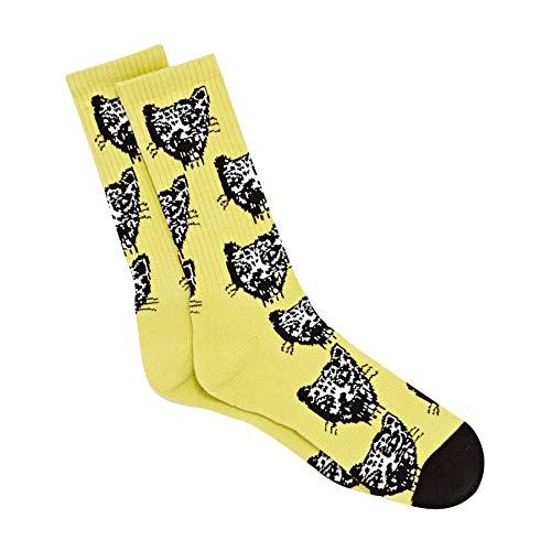 Volcom Herren Socken Ozzie gelb Einheitsgröße