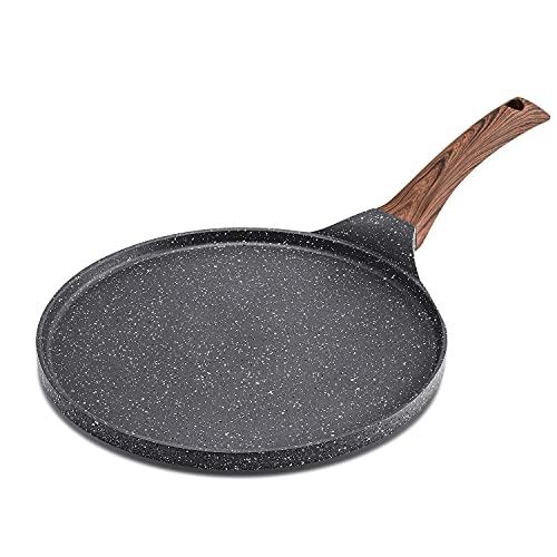SENSARTE Nonstick Crepe Pan, Swiss Granite Coating Dosa Pan Pancake...