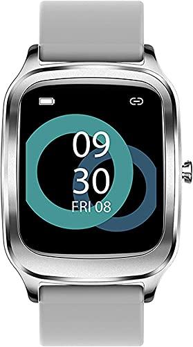 Smartwatches Podómetro Relojes inteligentes Monitor de presión arterial de frecuencia cardíaca Actividad Salud Sueño Fitness Trackers Impermeable Deportes Brújula Paso Contador Gris