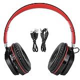 Agatige Auricolare Bluetooth Montato sulla Testa, Auricolare Bluetooth Wireless FG70 Auricolare Sportivo con Scheda di Spina Pieghevole Stereo per Bassi Pesanti