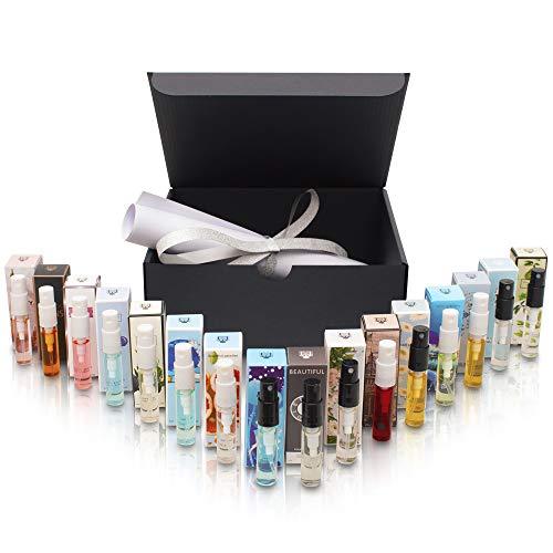 Parfümset mit 16 exotischen Düften á 3ml - ideal als Geschenk/Geschenkidee für Freundin/Mutter