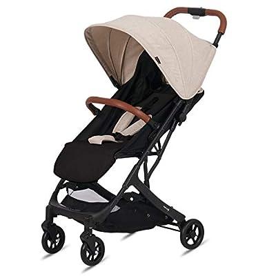 Knorr-baby 888601 B-Easy-Fold - Cochecito de bebé, color Color negro, beige.