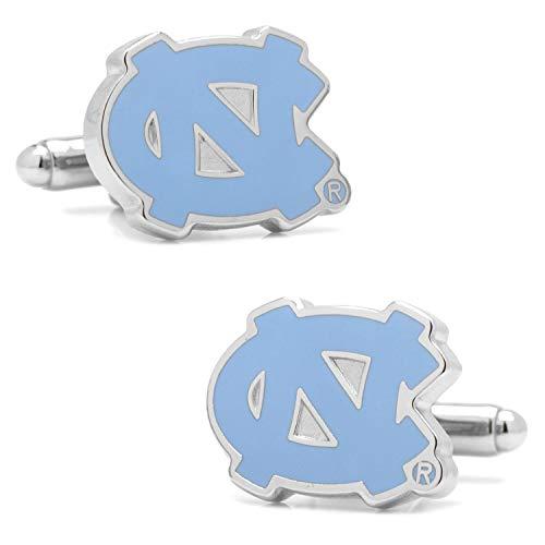 North Carolina Tar Heels NCAA Logo'd Executive Cufflinks w/ Jewelry Box