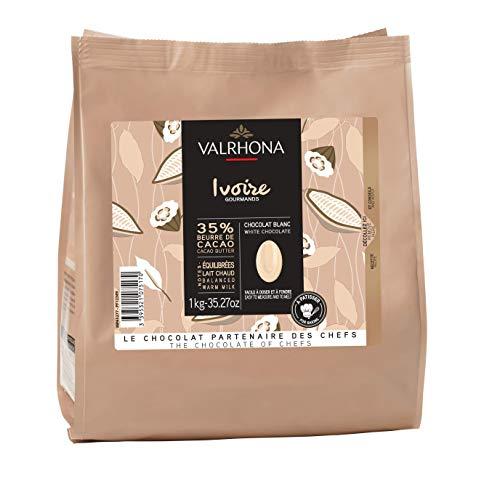 Valrhona - Cioccolato Valrhona Ivoire 35% - Confezione da 1Kg.