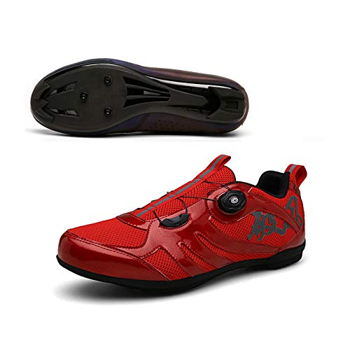 XKUN 【Nuevo 2021】 Zapatillas de Ciclismo para Carretera Plus, con Suela de...