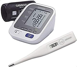 Omron M6 Automatic Blood Pressure With Echo Temp Digital Thermometer