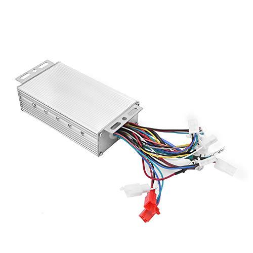 WYLZLIY-Home Controlador de Motor eléctrico Controlador De Velocidad del Motor, Accesorio De Bicicleta Eléctrico De 48V 60V 500W Sin Escobillas del Controlador Eléctrico para La Bicicleta Eléctrica