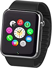 Smart Watch Smart Phone with SIM Card and Memory Card BLACK