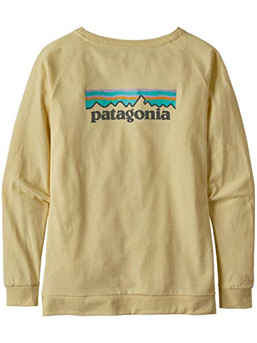 Patagonia W's L/S Pastel P-6 Logo Responsibili-tee...