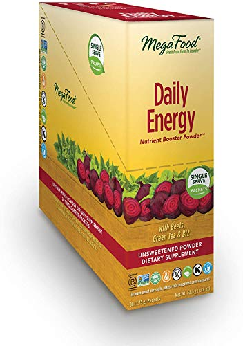 MegaFood, Daily Energy Booster Powder Singles, 30 Packets (30...