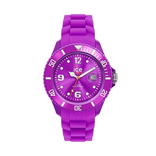 Ice-Watch - ICE forever Purple - Lila Damenuhr mit Silikonarmband - 000131 (Small)