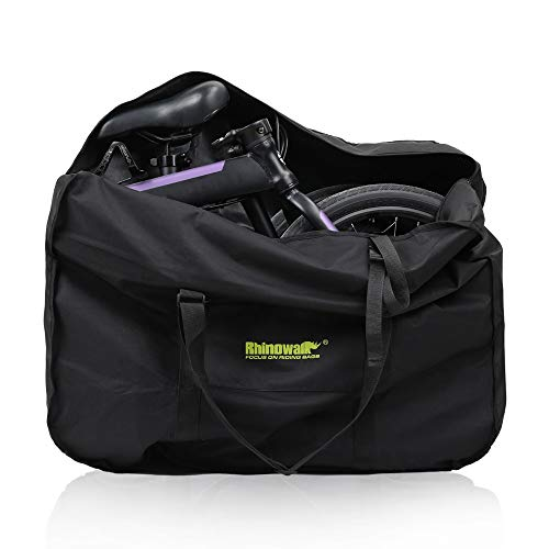 UBORSE Folding Bike Carry Bag 20 Inch Travel Bicycle Storage Bag Transport Case for Mountain Bike