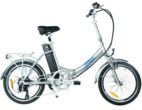 20 Zoll Swemo Alu Klapp E-Bike / Pedelec Sw 200 Neu (Silber)